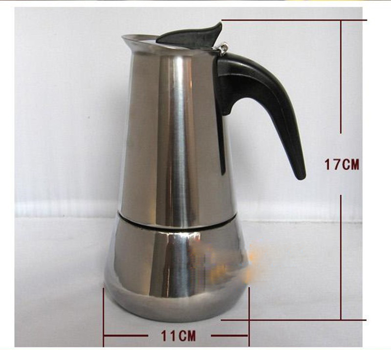 Coffee Maker Stainless Steel Pot : High Quality Coffee Maker Pot Espresso Coffee Pot Stainless Steel Coffee Machine eBay