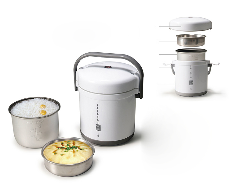 New High-Quality White Stainless Steel Mini Cylinder Rice