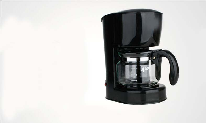 Drip Coffee Maker Plastic : New Black Plastic Capacity 4 Cups Home Drip Fully-Automatic Coffee Maker * eBay