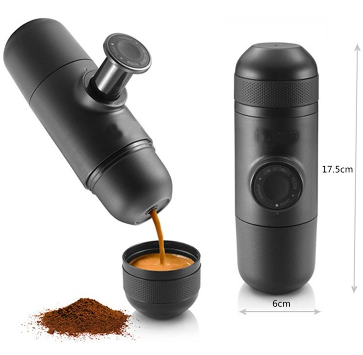 One Cup Coffee Maker Without Plastic : Italian Portable Mini Plastic Capacity 70ML Outdoor Hand Movement Coffee Maker eBay