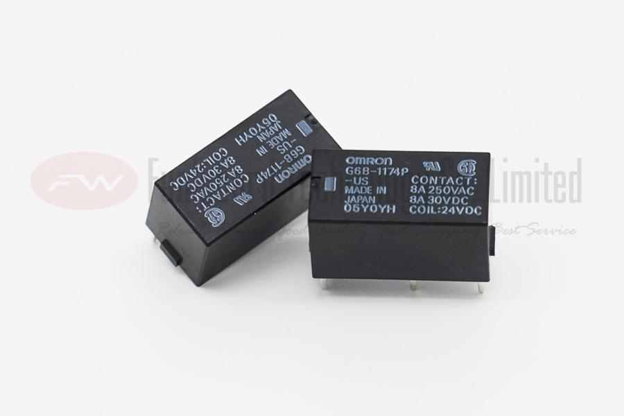 Omron G6b 1174p Us Dc24 Power Relay 8a 24vdc X 10pcs Ebay