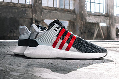 adidas X Overkill EQT 联名 黑红 BY2913  真标36--44