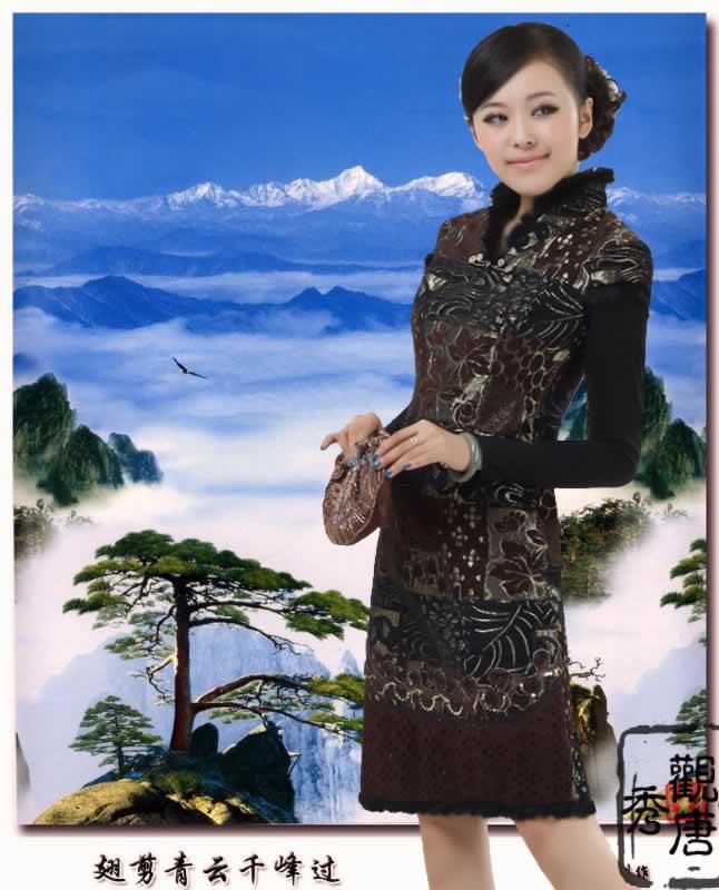 2010年时尚旗袍美女梦幻绝艳图