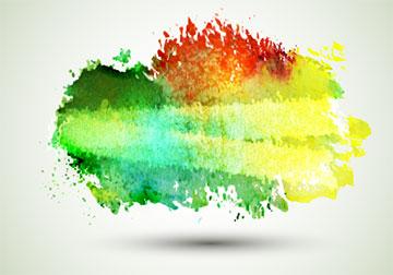 创意水彩涂鸦背景图