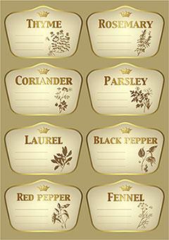 金边销售标签UI设计
