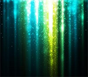 璀璨光效背景矢量图
