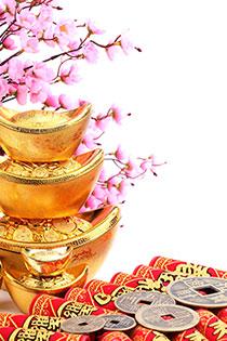 金银满屋迎新春