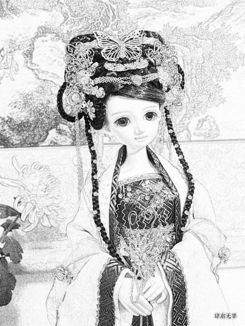 肆虐小站 自制1/4少女古装 星蓝 [预定品] - 肆虐无罪 - 肆虐小站