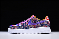 """SAGERSTRONG x NIKEiD Air Force 1 Low """"Craig Sager """"七彩鸳鸯腰花815773-991"""