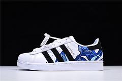 【NO.624086】顶级纯原装 专柜品质AD Superstar 刺绣贝壳头 休闲板鞋 B28014 男女