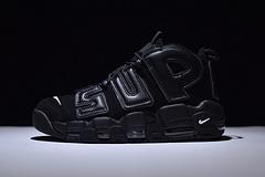 Supreme x Nike Air More Uptempo 大Air联名黑色 902290-700-100