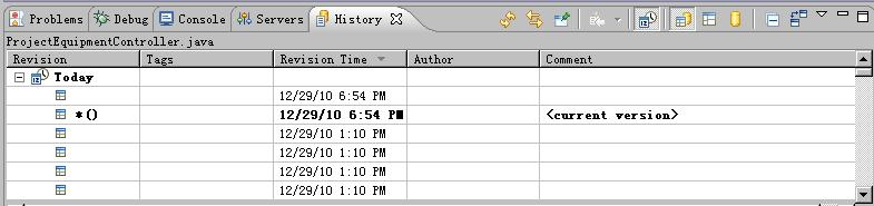 编辑器历史