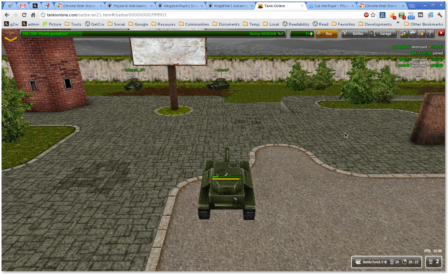 tank-battle