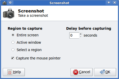 xfce-screenshoter