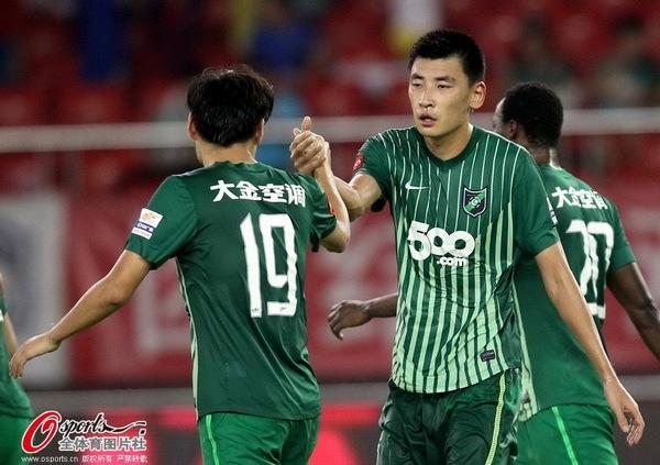 2013年中超第25轮:杭州绿城1-1武汉卓尔