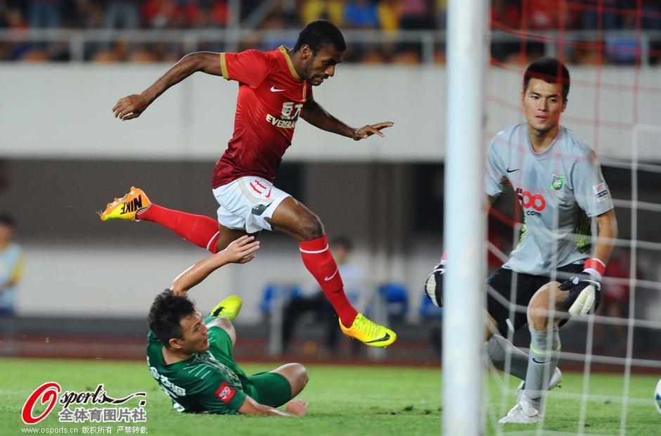 2013年中超第26轮:广州恒大4-0杭州绿城