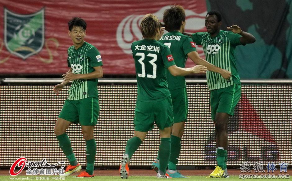 2013年中超第27轮:杭州绿城1-1江苏舜天