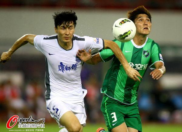 2012年中超第22轮:杭州绿城1-2天津泰达