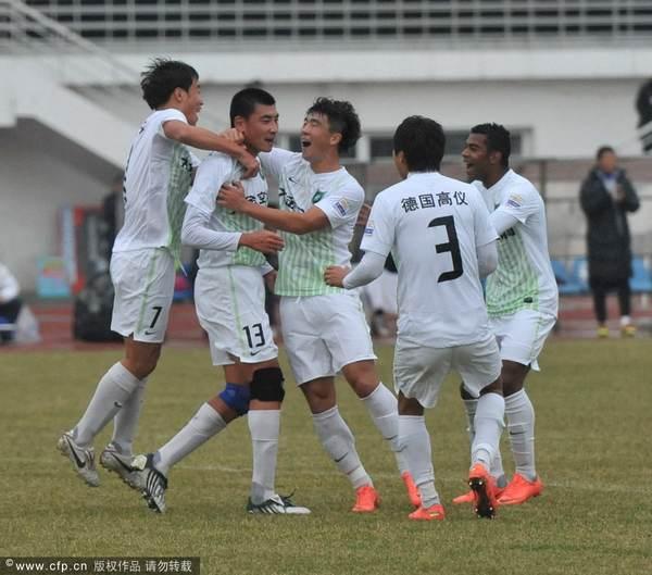 2012年中超第29轮:长春亚泰0-3杭州绿城