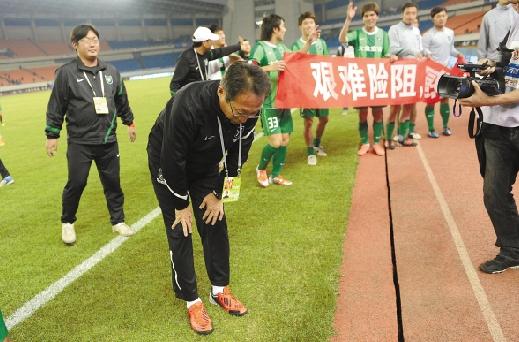 2012年中超第30轮:杭州绿城1-2大连阿尔滨