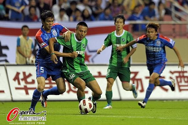 2011年中超第26轮:上海申花3-2杭州绿城