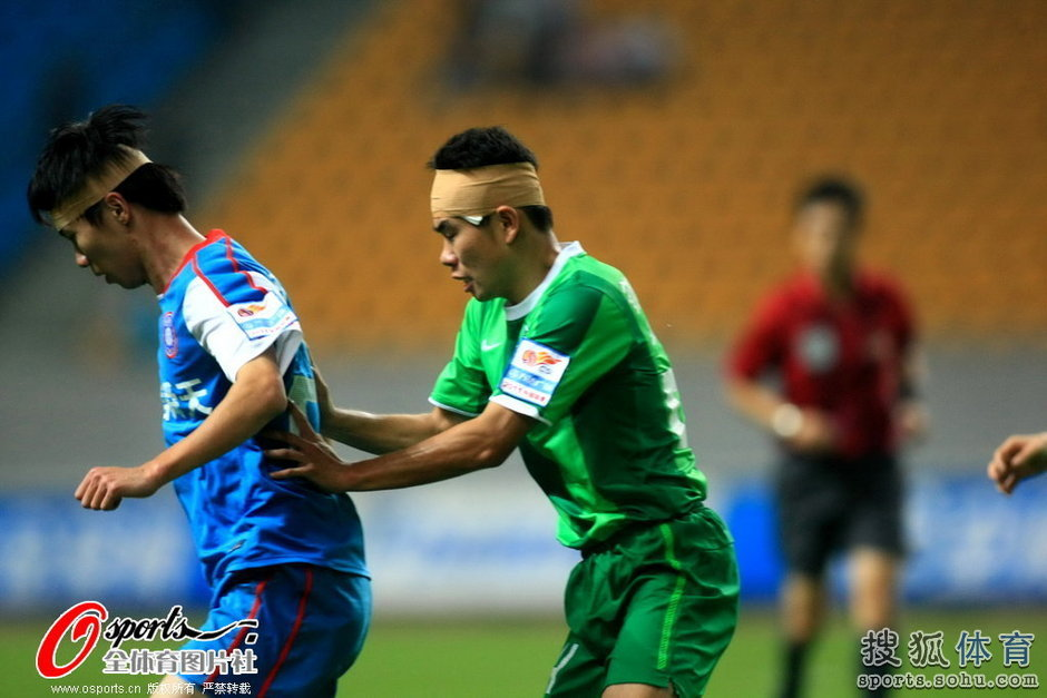 2011年中超第27轮:杭州绿城1-0江苏舜天