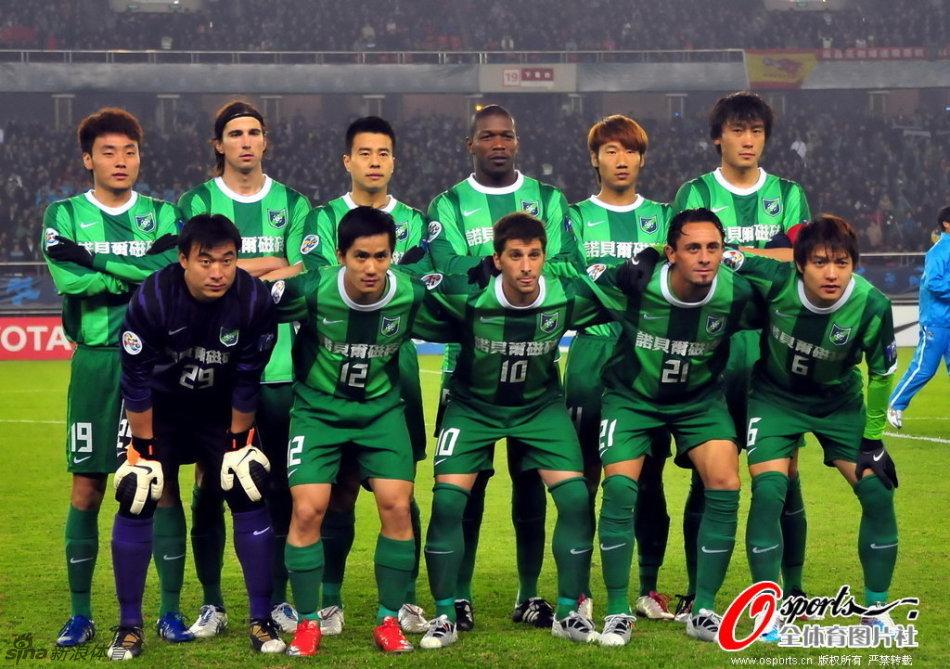 2011年亚冠联赛F组第1轮:杭州绿城2-0日本名古屋鲸八