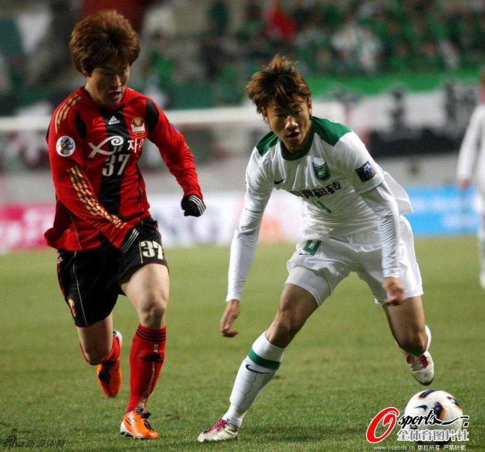 2011年亚冠联赛F组第2轮:韩国首尔FC3-0杭州绿城