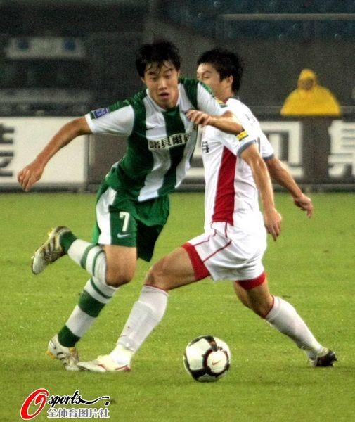 2010年中超第27轮:杭州绿城1-1长春亚泰