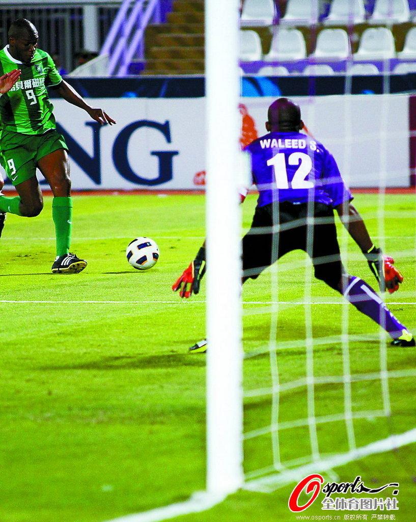 2011年亚冠联赛F组第4轮:阿联酋阿尔艾因1-0杭州绿城