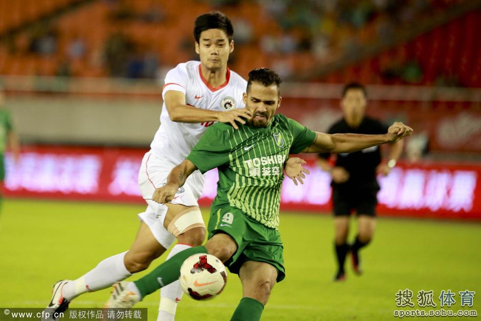 2014年中超第25轮:杭州绿城3-4辽宁宏运