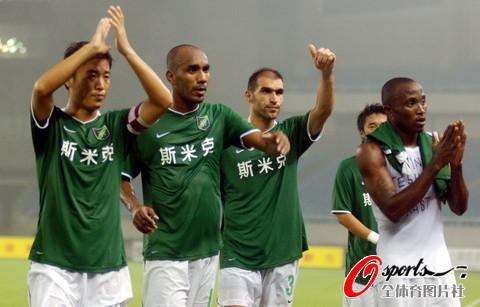 2009年中超第23轮:杭州绿城1-1长沙金德