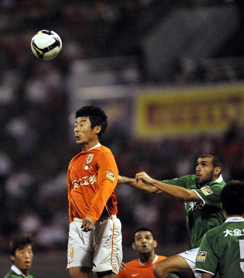 2009年中超第26轮:山东鲁能1-0杭州绿城
