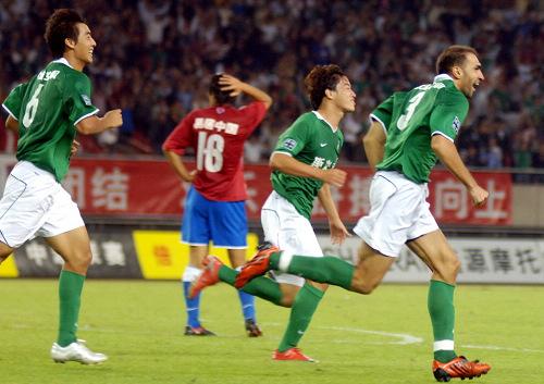 2009年中超第27轮:杭州绿城1-0陕西浐灞