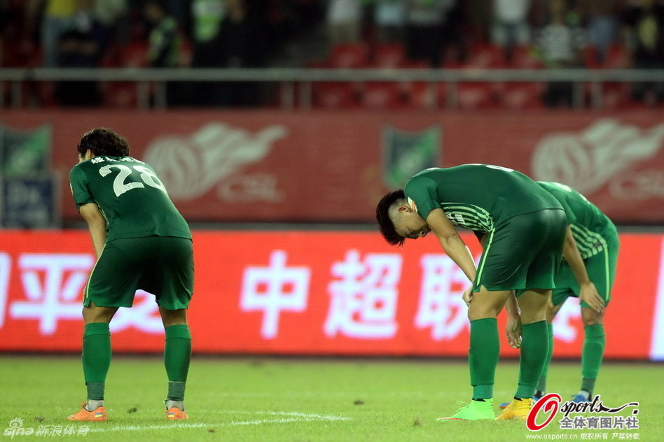 2014年中超第28轮:杭州绿城1-2北京国安