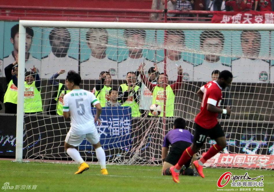 2014年中超第29轮:河南建业3-0杭州绿城