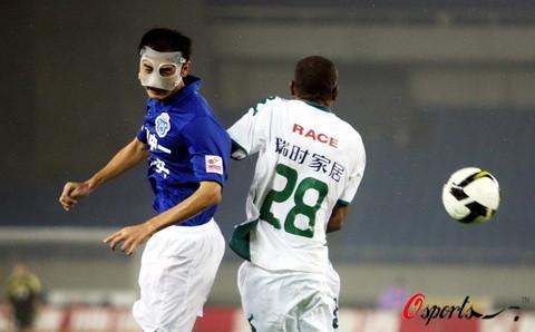 2008年中超第23轮:浙江绿城0-0广州医药