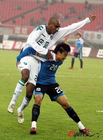 2008年中超第28轮:浙江绿城1-1大连实德
