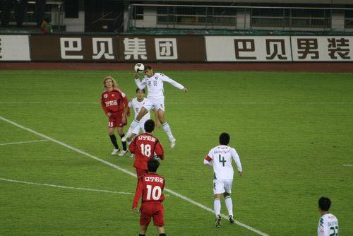2008年中超第26轮:浙江绿城1-1辽宁宏运