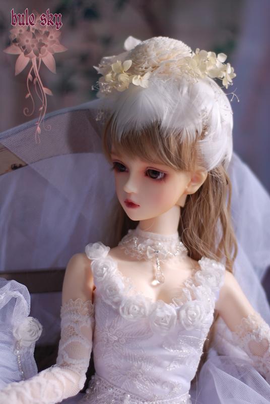 【Blue Sky】SD16少女用礼服——白色的誓言(Vol.14)