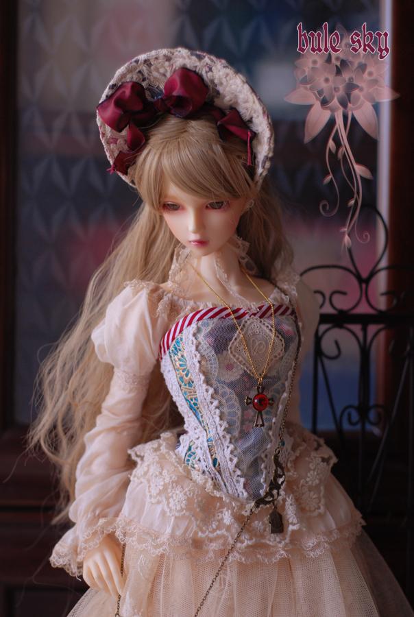 【Blue Sky】SD少女紅茶染洋服 ·秋の花園A(Vol.22)