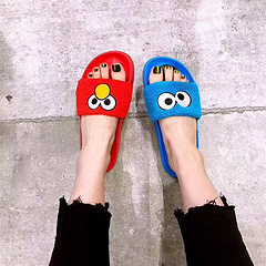 彪马 拖鞋PUMA X Sesame Street 芝麻街 联名限定 彪马卡通拖鞋 蓝 362456-01-02 女鞋36-41