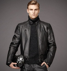 Belstaff 2013新款男士皮衣 码数:S-XXXL 完美做工,一流品质 BELSTAFF布衣,皮衣,包批发大量现货