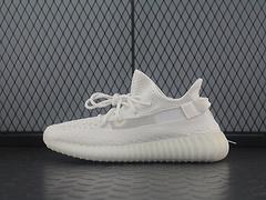 Adidas Yeezy 350 Boost V2 EG7962 阿迪达斯椰子350二代 全新纯白镂空蚕丝配色