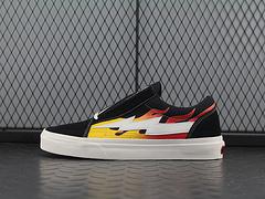 复仇风暴RevengexStormPopupStore二代雷电硫化板鞋鞋系列火焰雷电帆布