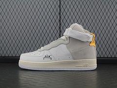 "A COLD WALL x Nike Air Force 1 ACW Samuel Ross 空军一号中帮板鞋""ACW白灰黄""AQ5644-991"