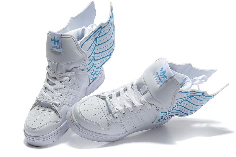 天使的翅膀 阿迪达斯情侣翅膀鞋 adidas流行高帮校园鞋 白宝蓝图片,天使的翅膀 阿迪达斯情侣翅膀鞋 adidas流行高帮校园鞋 白宝蓝图片大全,胡龙辉