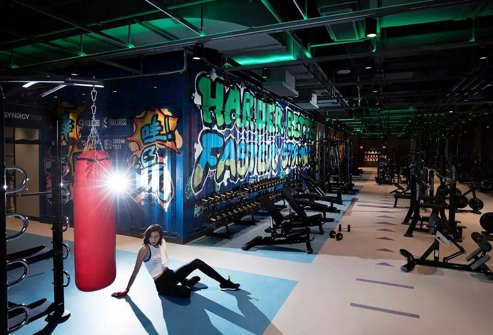 健身房灯光照明设计