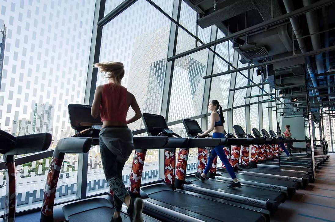 北京国贸炼工厂健身房设计