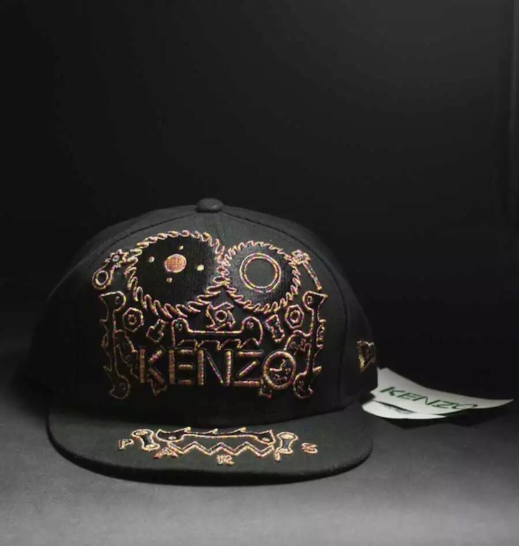 Kenzo New Era 59 Fifty Monster Hat 10a888cc56d